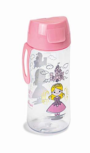 Snips Botella Infantil de tritán de 0,50 l con decoración de Princesa, Rosa, 0,50 LT