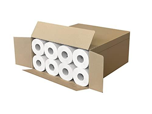 Dalia - Caja de 48 rollos de papel higiénico ecológico, doble capa, 220 hojas