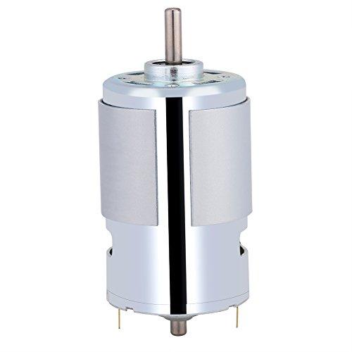 Fdit 12 V 100 Watt Runde Welle Elektrische Micro DC Motor 12000r / min High Speed Große Drehmoment Elektromotor Mikromotor Hochgeschwindigkeitsgleichstrom Motoren