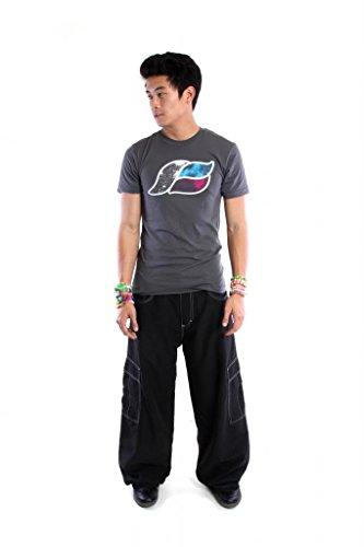 Kikwear Men's 23″ Microsuede Cargo Pants