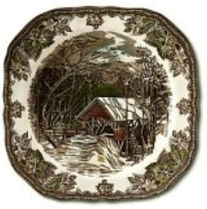 Johnson Brothers Friendly Village 7.75-Inch Square Salad Plate