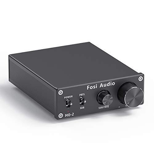 Fosi Audio M02 Subwoofer Amplifier Mono Channel Amp Home Theater Power Amp 100Watt