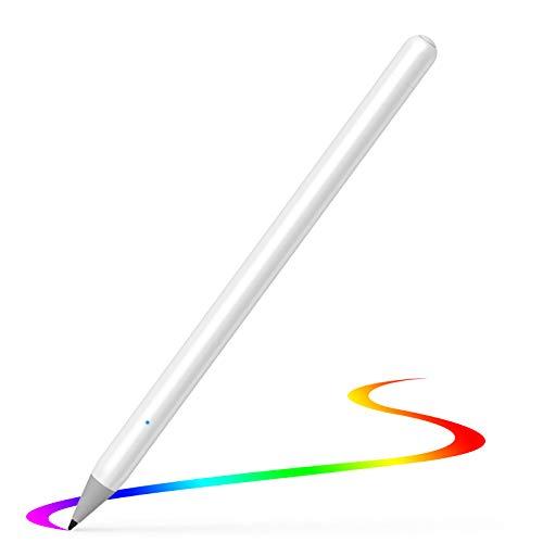 USGMOBI Penna Stilo Compatibile con Apple iPad 2018-2020, Matita Ricaricabile con Punta Ultra fine da 1,0 mm e Palm Rejection Compatibile per iPad PRO 11 ((1a 2a Gen), iPad PRO 12.9 (3a 4a Gen)