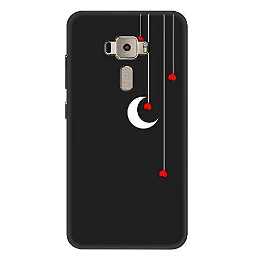 [HLKRK] Funda para ASUS Zenfone 3 ZE552KL Funda TPU Escudo Protector Case Cover 12