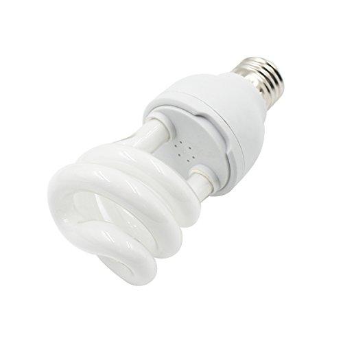 ulable 10.0 luz ultravioleta UVB para tortuga reptil Lagarto compacto Globe E27 13W