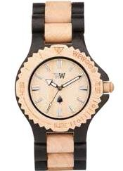 We Wood w-date _ beige _ WT Armbanduhr für Mann