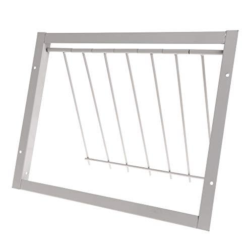 Oranmay Pigeon Door Wire Bars Frame Entrance Trapping Doors Loft Supplies Racing Birds Catch Bar