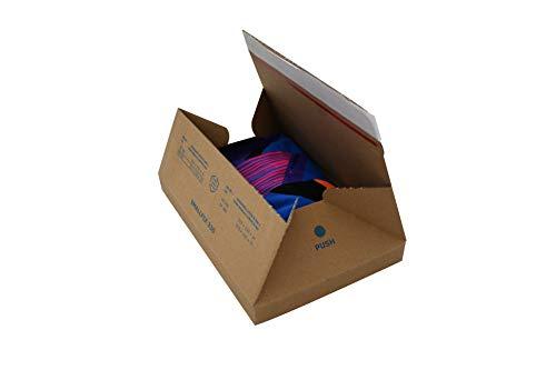Carte Dozio - Scatole in cartone automontanti per spedizioni - F.to int. mm 213x153x17-25 pz a conf.