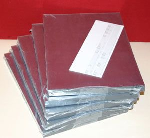 Tophobby 200 Fogli Trasparenti Mica, Formato A5, 14,8 x 21 cm