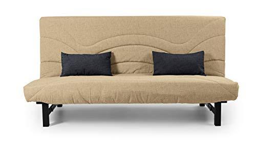 MUEBLIX.COM Sofa Cama Ria - Beige
