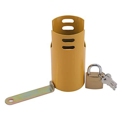 JOOFFF Outdoor Wasserhahn Diebstahlsicherung, kleine Öffnung Tragbare Waschwasserhähne Diebstahlsicherungen Haushaltsversorgung