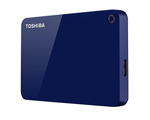 Toshiba Canvio Advance, Portable Disco Duro Externo 2.5 USB 3.0, USB, 1TB, Rojo