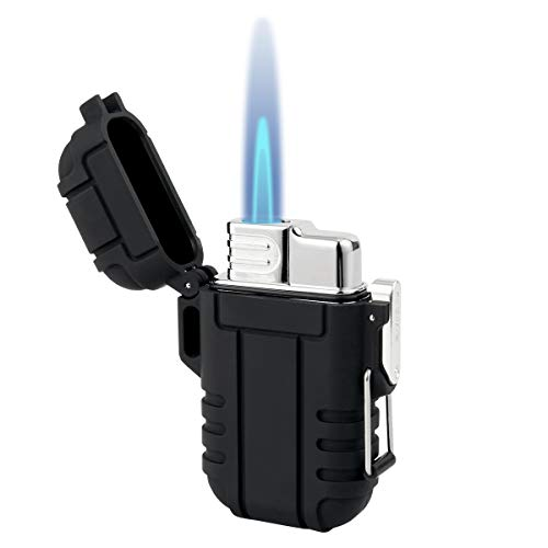 BTXYM Torch Lighter, Refillable Mini Butane Lighter with Safety Lock,...