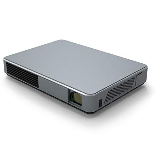 Prtukytt 4K microprojector thuis HD-projector 3D Smart Home Theater 4-core grafische kaart 3000LM helderheid 300-inch projectiescherm 5G Dual Band WLAN