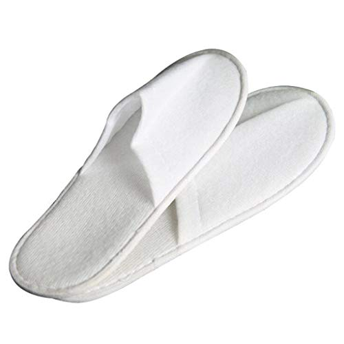 Wegwerp Slippers Hotel 500 paar witte huis gastvrijheid Sauna geborsteld verdikking antislip 500 paar Slippers wegwerp benodigdheden 28 * 11 cm 28cm*11cm White 500 pairs