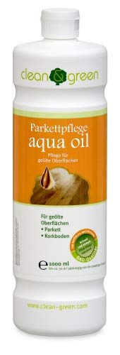 clean & green Parkettpflege aqua oil 1,0 l