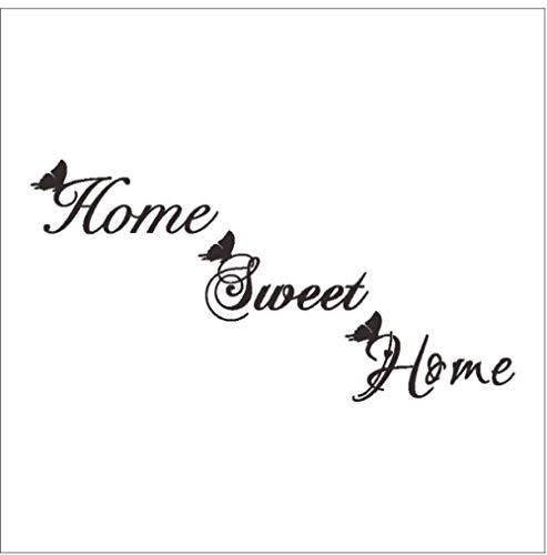 STPillow Muurstickers Sweet Home Butterfly Engels voor hoofddecoraties Muurkunst Stickers Raamkast Behang deurstickers
