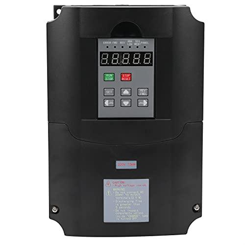 FEIP Convertidor de frecuencia, convertidor de frecuencia Variable Seguro Resistente a Impactos Convertidor humanizado Resistente al Calor para Trabajadores para Motor de 180-250 V