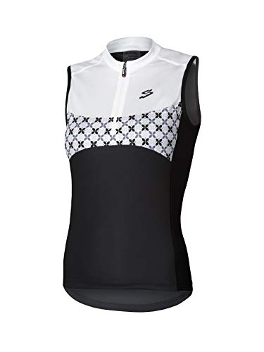 Spiuk Maillot S/M Race Mujer Negro/Blanco T. S