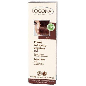 LOGONA Crème colorante - Couleur - Teck - 150ml