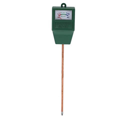 Medidor de Humedad del Suelo de Plantas de jardín, analizador hidropónico, Herramienta de medición de Humedad para Plantas de jardín de Interior al Aire Libre, Verde BCVBFGCXVB