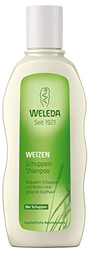 WELEDA Weizen Schuppen-Shampoo, Naturkosmetik Duschgel für die Pflege der Kopfhaut und zur Entfernung von Schuppen, Anti-Schuppen Pflegedusche mit Vitamin E (1 x 190 ml)
