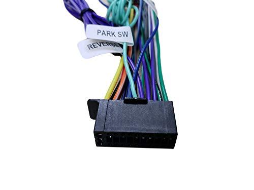 Wire Harness for JVC KWM730BT KWM740BT KWV820B KWV830BT KWV840BT KWV850BT