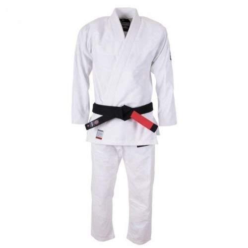 Tatami Hokori BJJ Gi Blanco Jiu-Jitsu Brasileño Gi Uniforme Kimono Vendido por Minotaurfightstore - A1L