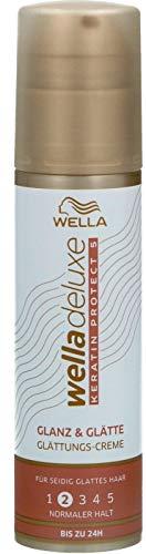 Wella Deluxe Glanz & Glätte Glättungs-Crème, 100 ml, 99350032158