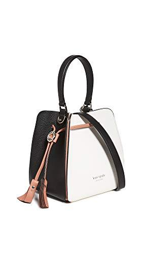 Kate Spade New York Women's Boxy Small Bucket Bag, Optic White Multi, One...