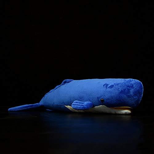 Xin Yao Store Peluche 54 Cm Giocattolo Super Morbido Animali Marini Peluche Bambola Balena Vasino per Bambini