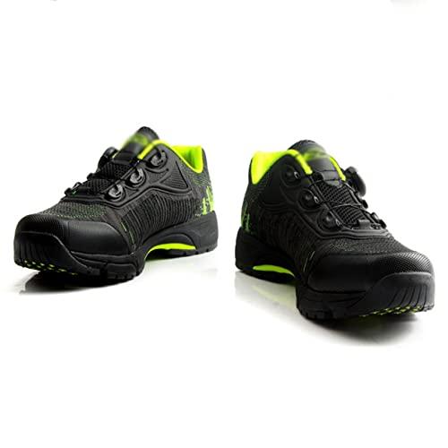 GUOANFG Uso Dual para Adultos para Ciclismo Y Calzado para Caminar, Calzado De Carretera Transpirable Unisex Calzado De Ciclismo De Montaña,A-44 EU