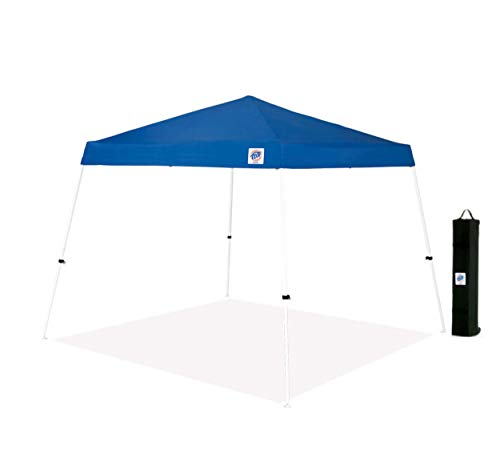 E-Z UP Inc. VS2912BL, 12' x 12', Angled Leg, Clear Span Ceiling and Rolling Storage Bag, Royal Blue E-Z UP Vista Instant Shelter Canopy, 12 by 12', 10'x10'