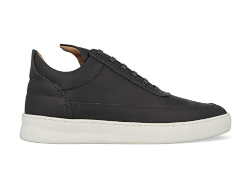 Filling-Pieces Low Top Plain Matt Nappa Antracite-40