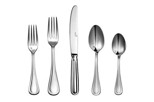 Daelim Bonita Collana 20pcs Flatware Cutlery Set, Service for 4, Solid Stainless Steel, Dishwasher Safe, Ergonomic Design and Size