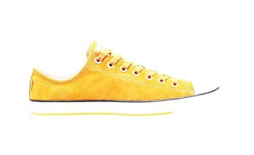 Converse Cons Chuck Taylor all Star PRO Scarpa Sportiva Pelle Scamosciata Bassa (Sunflower/Gold White, Numeric_42_Point_5)