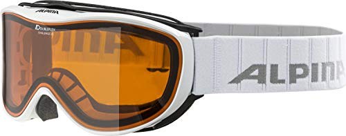 Alpina Skibrille Challenge 2.0 DH, White, One Size