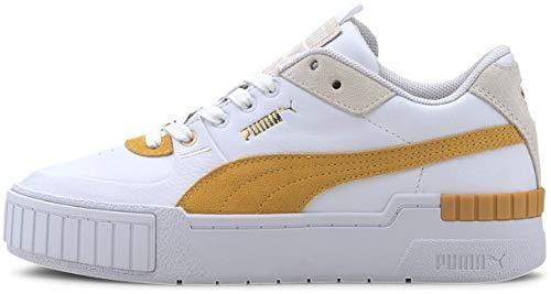 PUMA Cali Sport Heritage Puma White/Golden Rod 10 B (M)