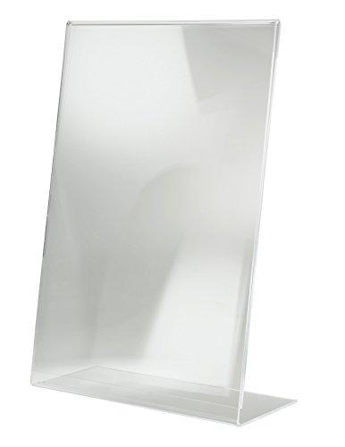 SIGEL TA213 Tischaufsteller schräg, für A3, glasklar Acryl, 297 X 420 mm