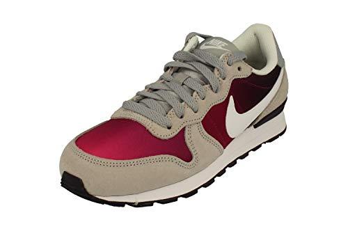 Nike Mädchen Internationalist (GS) Fitnessschuhe, Grau/Weiß/Lila (Wolf Grey White Purple Dynasty), 37.5 EU