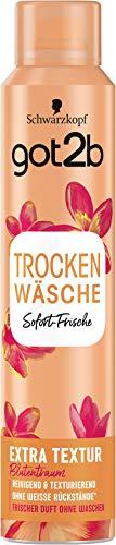 Schwarzkopf got2b Trockenshampoo Trockenwäsche Extra Textur, 3er Pack (3 x 200 ml)