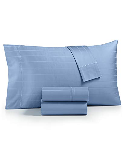 Charter Club Sleep Cool 400 Thread Count 100% Hygro Egyptian Cotton 4 Piece King Sheet Set Denim Sky
