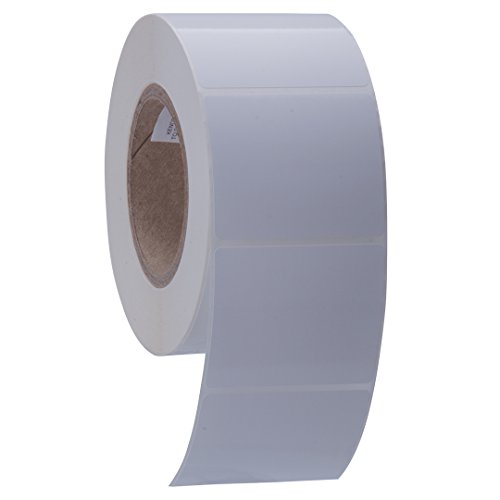Kenco Premium Inkjet 3? X 2.5? Rectangle High Gloss Paper Roll-Fed Inkjet Labels. Compatible with Primera Color Label Printers and Many Other Printer Brands. Supplied 1000 Labels on a 3? core.