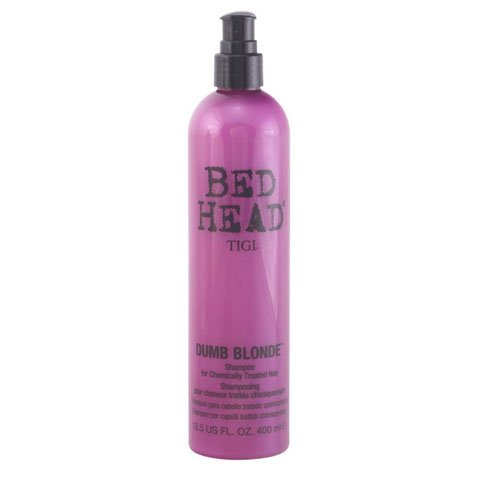 Tigi Bed Head NEW Dumb Blonde - hair shampoos (Unisex, Non-professional, Shampoo, Blonde hair, Shine, Strengthening, Vitamin E)
