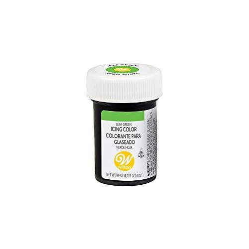 Wilton Colorante Alimenticio para Glaseado en Pasta, 28.3g, Color Verde Hoja, 04-0-0047
