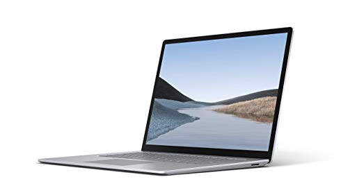 """Microsoft Surface Laptop 3 – 15"""" Touch-Screen – AMD Ryzen 5 Surface Edition - 8GB Memory - 256GB Solid State Drive – Platinum (Renewed)"""