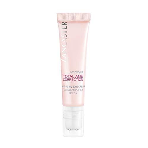LANCASTER Total Age Correction Amplified Anti Aging Eye Cream & Glow Amplifier LSF 15, Anti Aging Augen-Creme, 15 ml