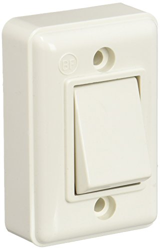 Bf 10325012 Interruptor de Superficie 6 A 250 V, Multicolor