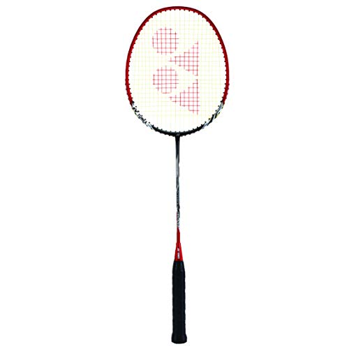 Yonex Nanoray 6000i Aluminium-Alloy Strung Badminton Racquet (Red) with Full Cover