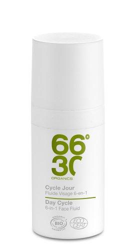 66 30 Cycle jour Fluide visage 6 en 1 ultra hydratant format voyage homme 15ml